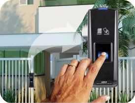 Controle de acesso portaria