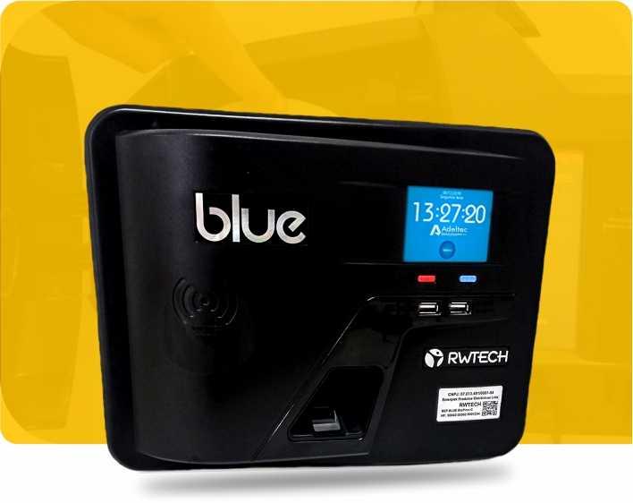 Relógio de Ponto Blue