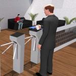Controle de acesso catraca